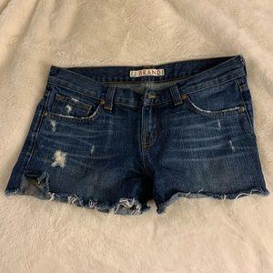 Women's jean shorts by J Brand